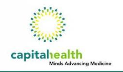 Capital Health Company Logo