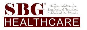 SBG Healthcare Company Logo