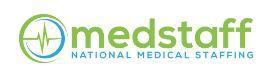 Medstaff National Medical Staffing Company Logo